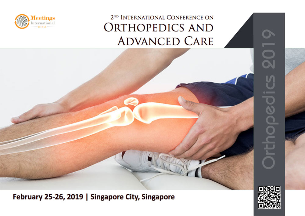 Dr James Stoxen DC FSSEMM Hon Team Doctors 2nd International Conference on Orthopedics & Advanced Care in Singapore City Singapore 2019