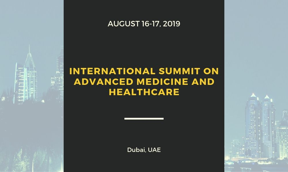 Dr James Stoxen DC FSSEMM Hon Team Doctors International Summit on Advanced Medicine and Healthcare held on August 16-17 2019 in Dubai UAE