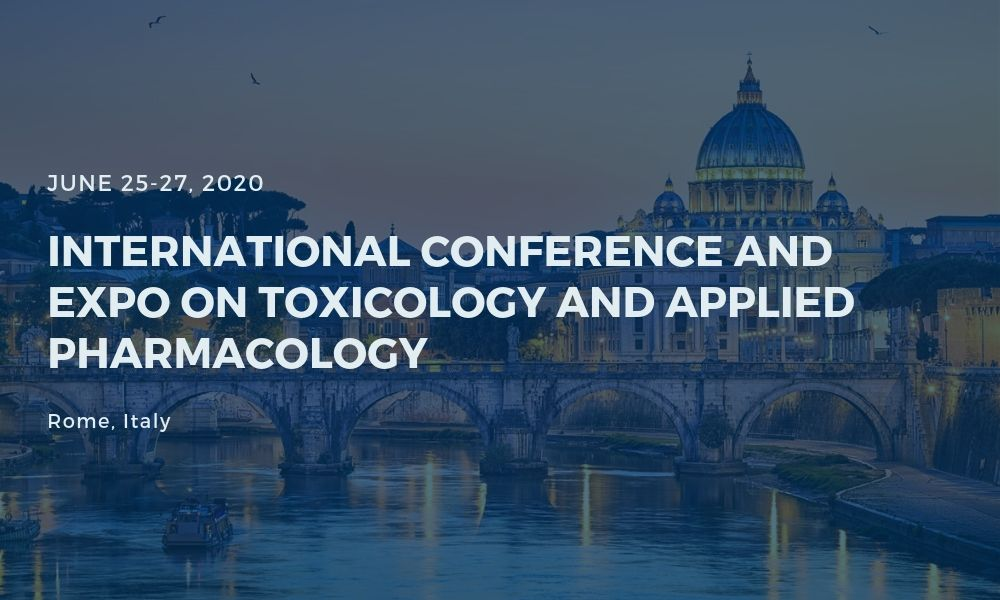 Dr James Stoxen DC FSSEMM Hon Team Doctors International Conference and Expo on Toxicology and Applied Pharmacology 2020
