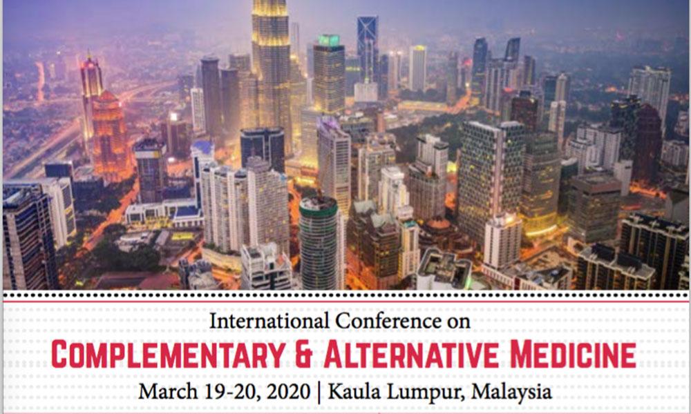Dr James Stoxen DC FSSEMM Hon Team Doctors International Conference on Complementary & Alternative Medicine 2020