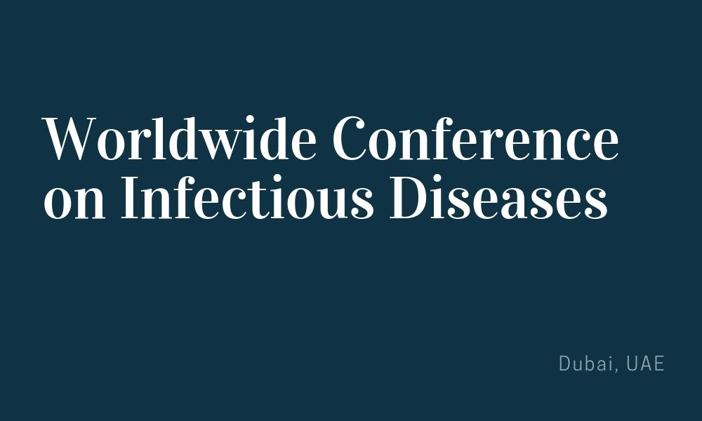 Dr James Stoxen DC FSSEMM Hon Team Doctors Worldwide Conference on Infectious Diseases Dubai UAE November 25-26 2019