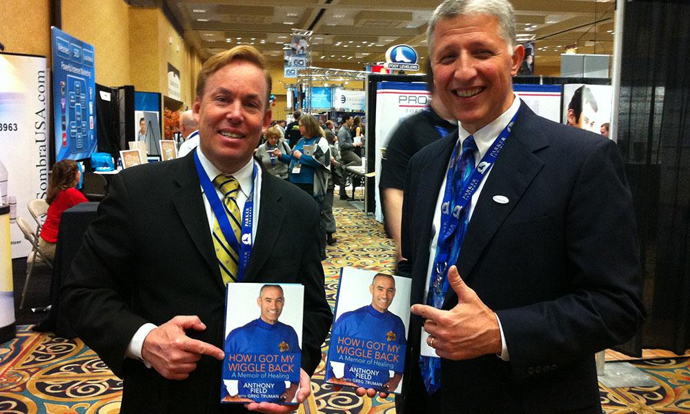 Dr James Stoxen DC and Dr Richard Gringeri at the Parker Seminar