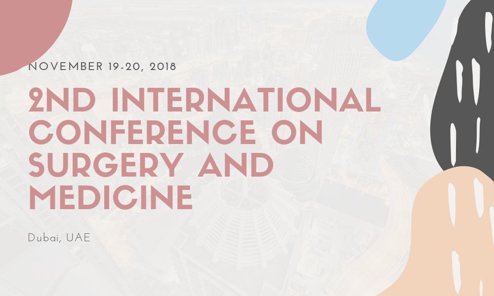 Dr James Stoxen DC FSSEMM Hon Team Doctors 2nd International Conference on Surgery and Medicine in Dubai UAE on November 19-20 2018