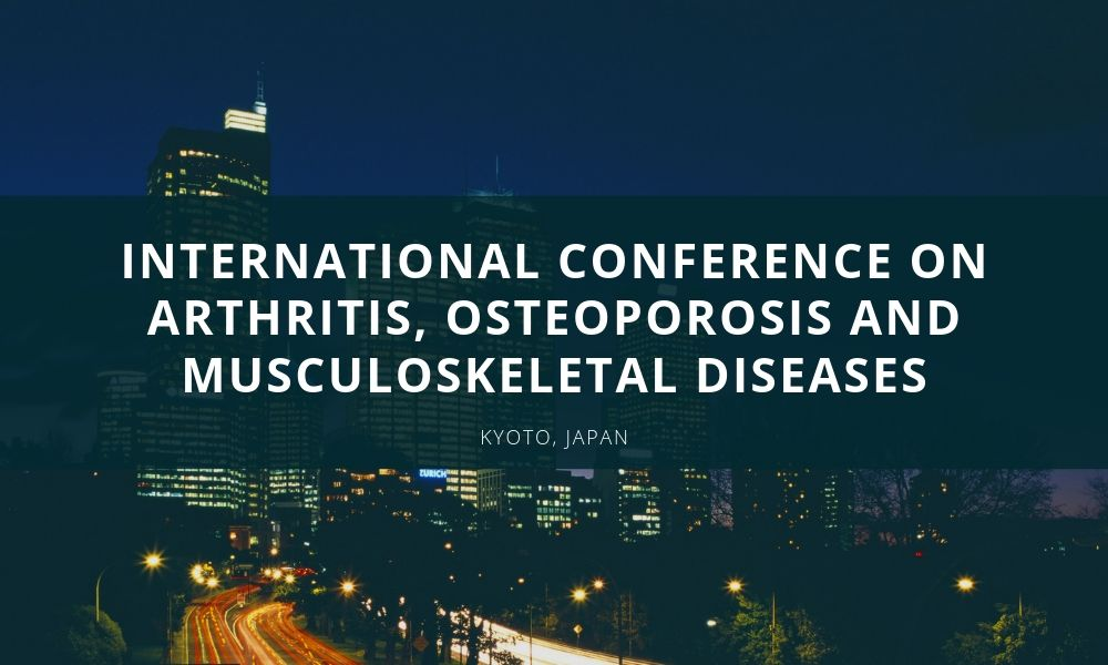 Dr James Stoxen DC FSSEMM Hon Team Doctors International Conference on Arthritis Osteoporosis and Musculoskeletal Diseases scheduled during November 25-26 2019 in Kyoto Japan