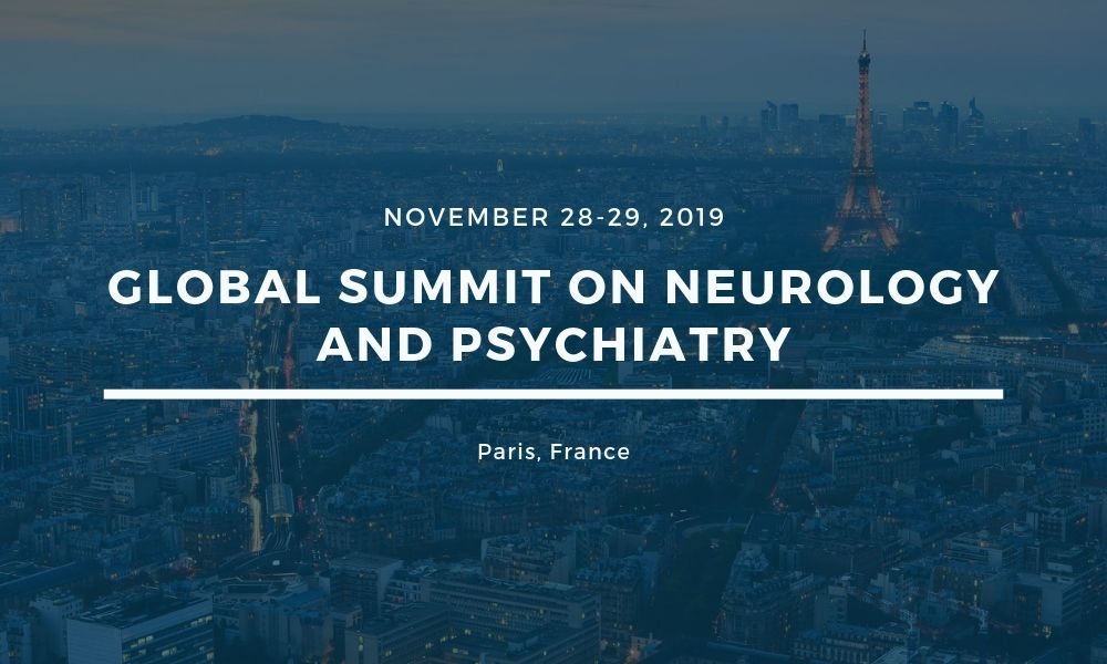 Dr James Stoxen DC FSSEMM Hon Team Doctors Global Summit on Neurology and Psychiatry on November 28-29 2019