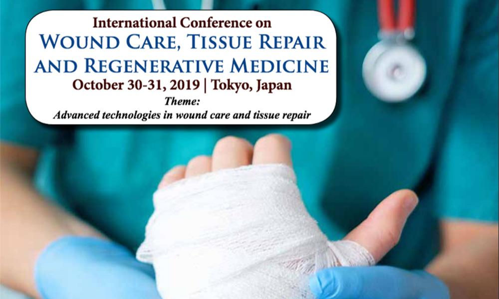 Dr James Stoxen DC FSSEMM Hon Team Doctors International Conference on wound care, tissue repair and regenerative medicine 2019