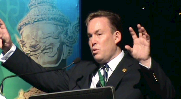 Dr. James Stoxen DC Lectures in Bangkok 2012