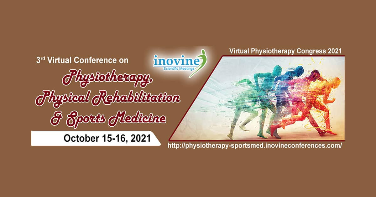 Dr James Stoxen DC., FSSEMM (hon) has been invited to speak at the 3rd Virtual Conference on Physiotherapy, Physical Rehabilitation & Sports Medicine on October 15-16, 2021